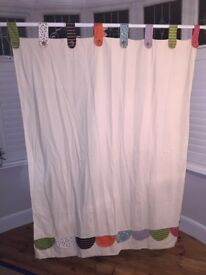 Timbuktales Tab Top Curtains with Blackout Lining