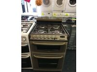 CANNON 60CM DUAL FUEL COOKER IN BRONZE