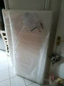 Sapling Cot Bed Foam Mattress (140cm x 69cm)