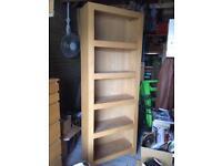 Oak book case