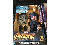 Brand new in box avenger infinity war toys