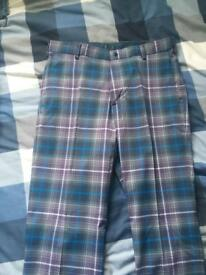 Nike golf trousers 32l 32w