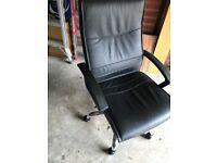 Computer Chair Black - No gas lift