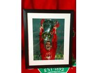 Carragher Hand Signed photo