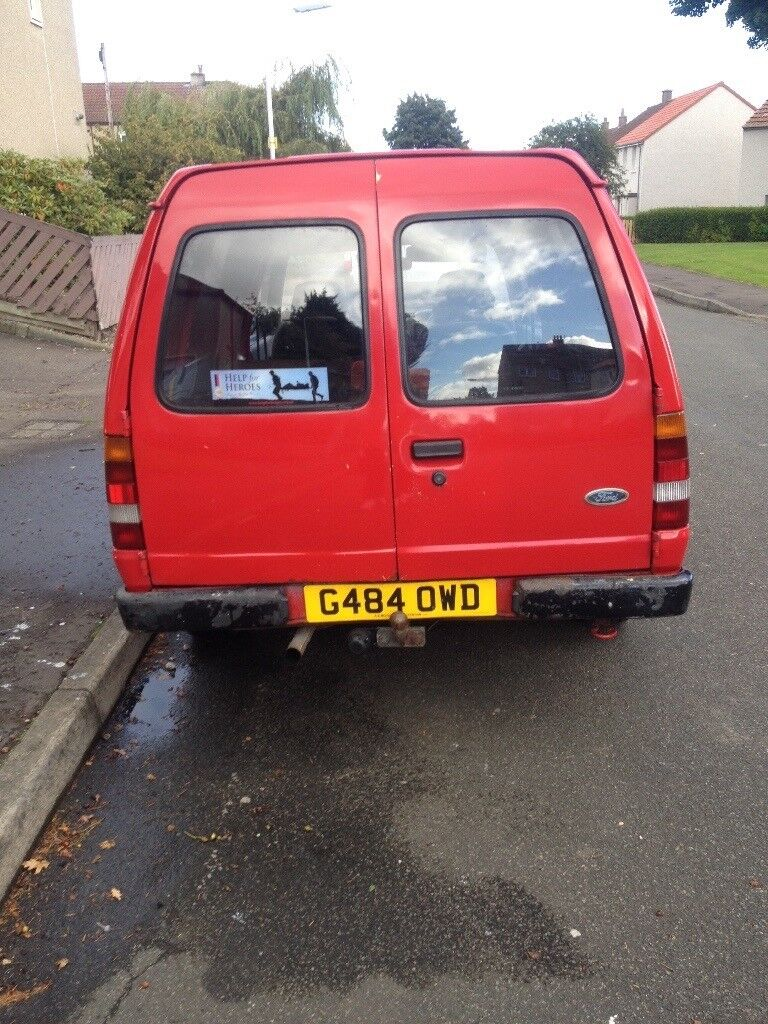 Swap for a transit size van escort miles 79k leather seat professionally ply lined in the back the