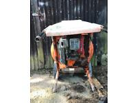 Belle cement mixer & stand