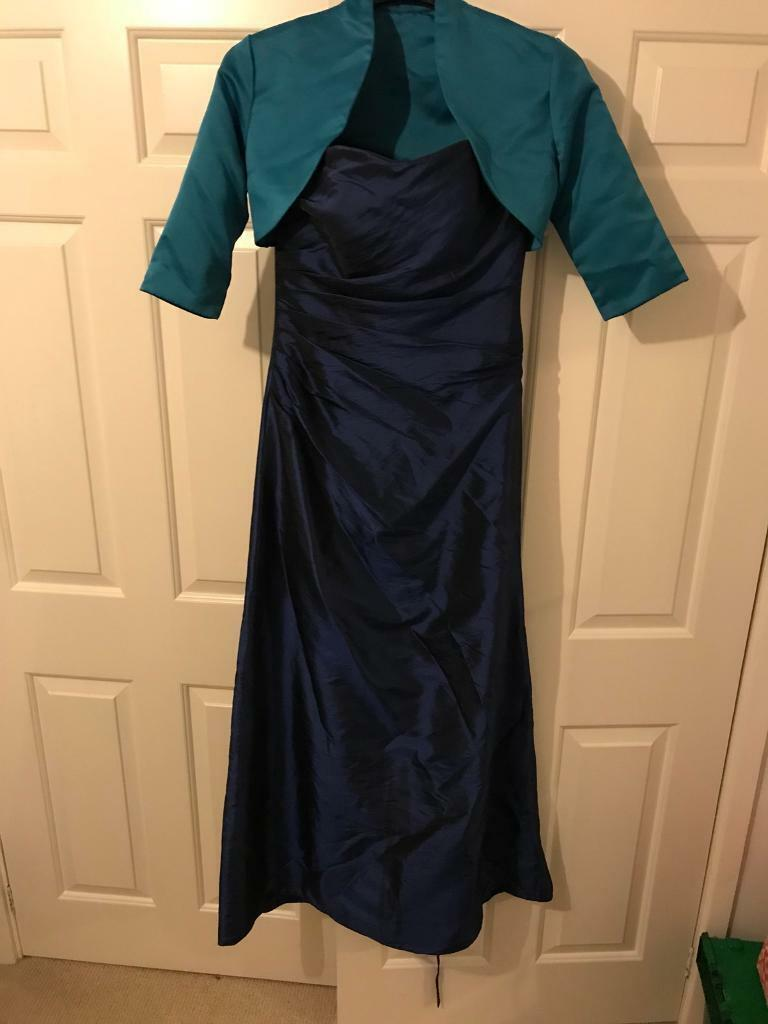 Bridesmaid dress linzi jay navy blue size 8 in bedford bridesmaid dress linzi jay navy blue size 8 ombrellifo Image collections