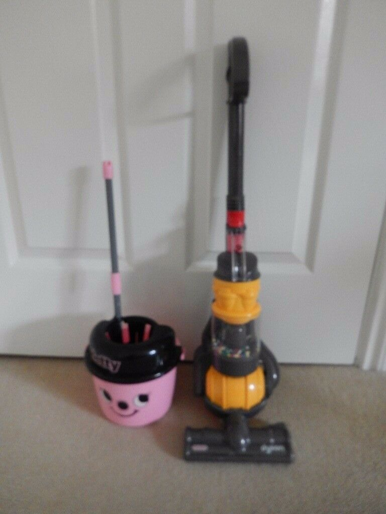 Toy Dyson Hoover and Hetty Mop & bucket