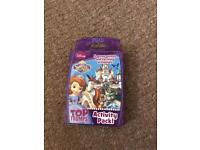 Sofia the First Top Trumps Card Game.