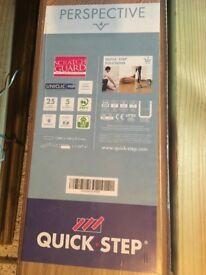 Quick-Step Laminate Flooring x 2 boxes (never opened, still sealed)
