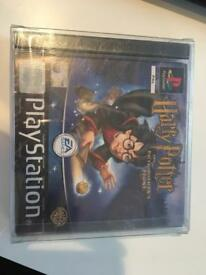 Sealed Harry Potter ps1 game offers please