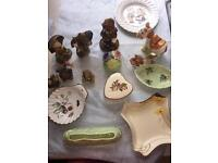 Antique ceramic collectibles