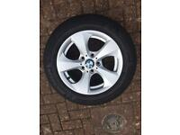BMW 320d efficientdynamics ed right wheel and tyre 36116795806