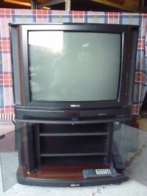 Retro Philips Matchline Classic TV