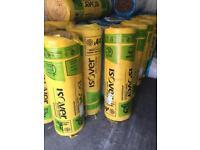 Loft insulation rolls 100 mm 200mm