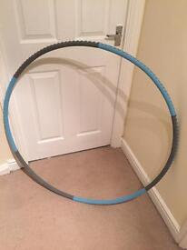 Pro fitness weighted hula hoop