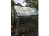 Greenhouse 8' x 6' - Needs attention but frame is good!