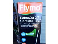 Flymo cordless hedge trimmer -Brand new