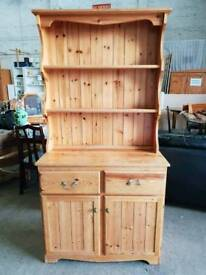 Pine Welsh dresser delivery options available now