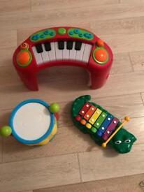 Toddler set of musical instruments
