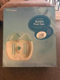 Bubble Foot Spa
