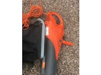 Electric Flymo Leaf Blower & Vacuum For Sale