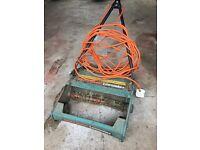 Black & Decker lawn raker scarifier moss remover