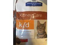 Job lot of renal/ kidney care prescription cat food