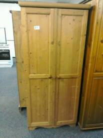Pine wardrobe #30268 £55