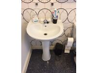 Bathroom Suite White