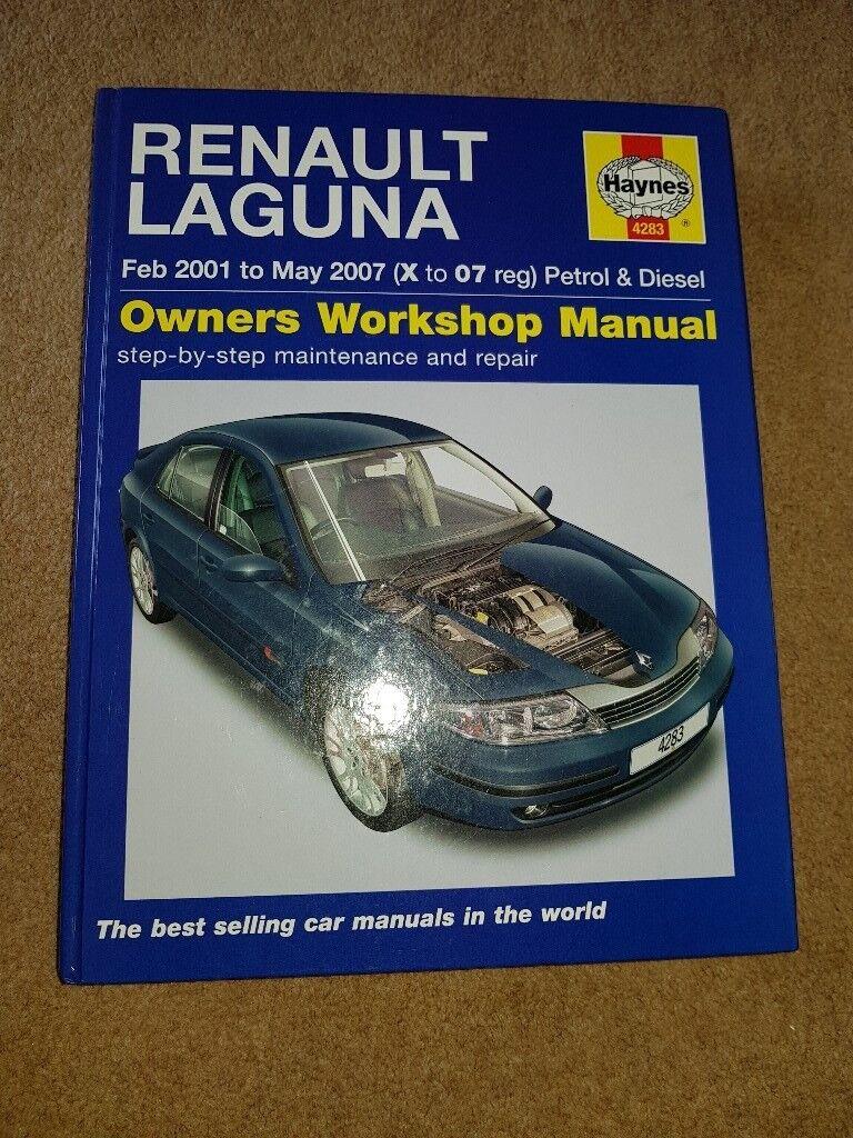 Renault Laguna 2001 to 2007 Haynes Workshop Manual
