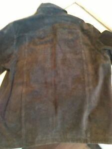 Men's Large Dark Brown Suede Coat - Excellent Condition Kitchener / Waterloo Kitchener Area image 4