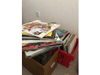Job lot vinyl records - over 300 - pop, classical, rock - VGC - worth over £1,500
