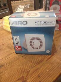 Bathroom extractor fan AIRO