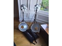 Photography Lighting job lot £220