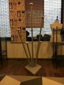 Boutique Retail Pronged Display Stand- 5 for sale