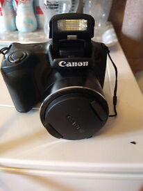 CANON POWERSHOT SX400 IS DIGITAL CAMERA 16MP 30x ZOOM - BLACK (BOXED)