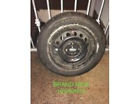 BRAND NEW 165/60R14 TYRE WITH 4x100 RIM