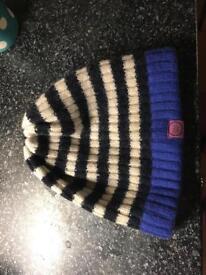 Joules woolly hat ladies