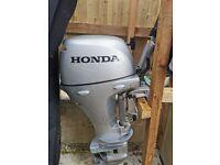 10hp Honda outboard