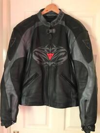 Dainese lather jacket size 54