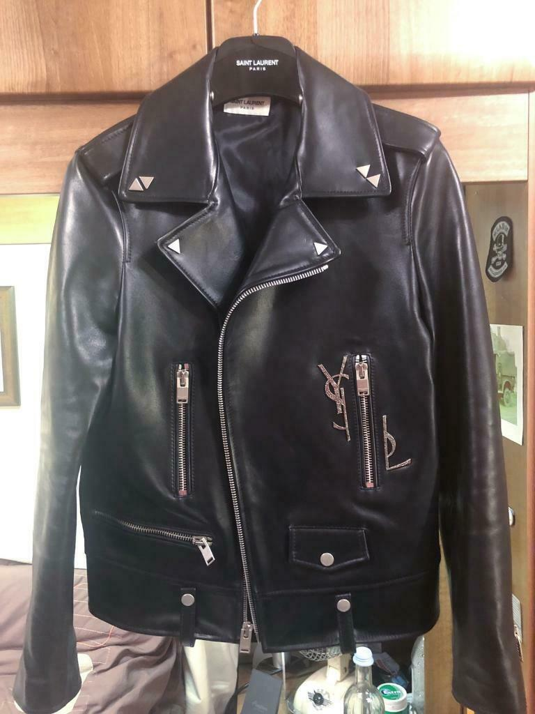 0697bddb Saint Laurent L01 Biker Jacket (size 48, UK S/M) | in Central London,  London | Gumtree