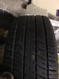 "15"" tyre 205/50/15 - good tread - 15 inch winter tyres"