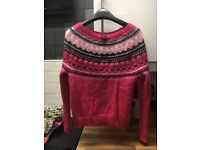 Ladies jumpers size 10