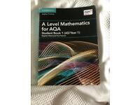 Aqa a level year 1 maths