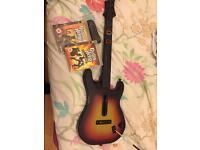 Guitar hero games and guitar PlayStation 3
