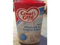 Brand new unused baby milk £6.50!