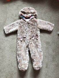 Ted baker snow suit 6/9 months, large fit, immaculate