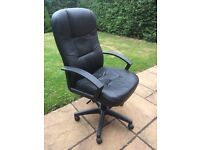 Good condition leather office chair