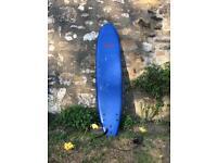 7ft 10 Beginners Foam Surfboard